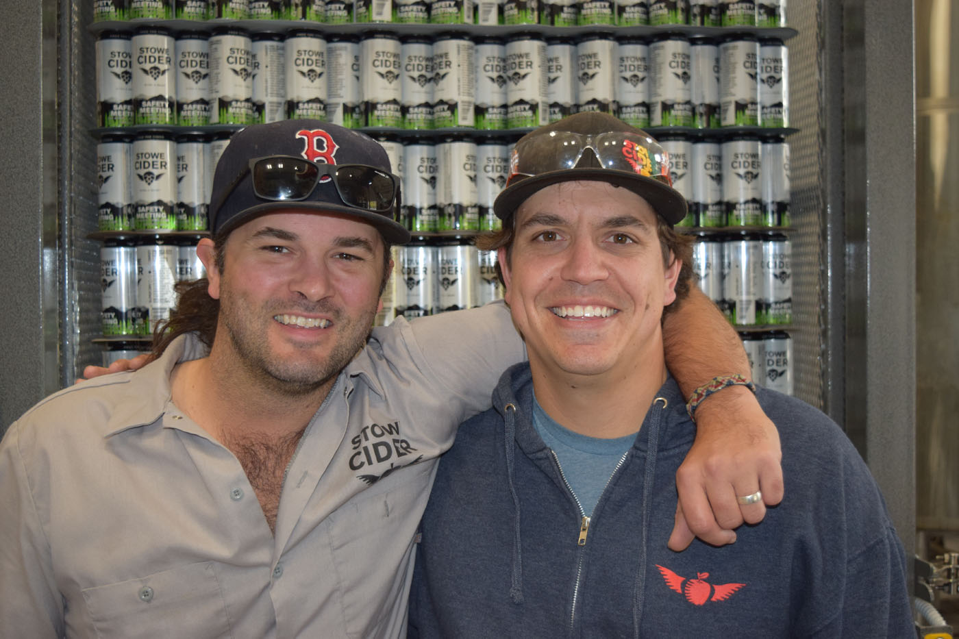 Mark Ray Co Owner and Stefan W. Windler Founder of Stowe Cider-1.jpg